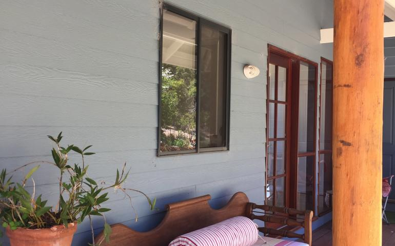 North facing verandah